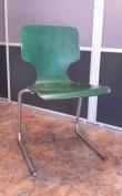 Chaise en Bois de Forme Galbée