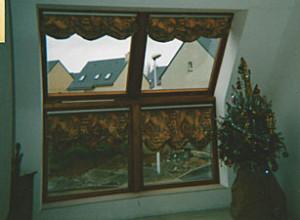 Le tissu dans votre déco fenêtres