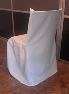 Housse pour chaise avec un Dossier Droit mariage